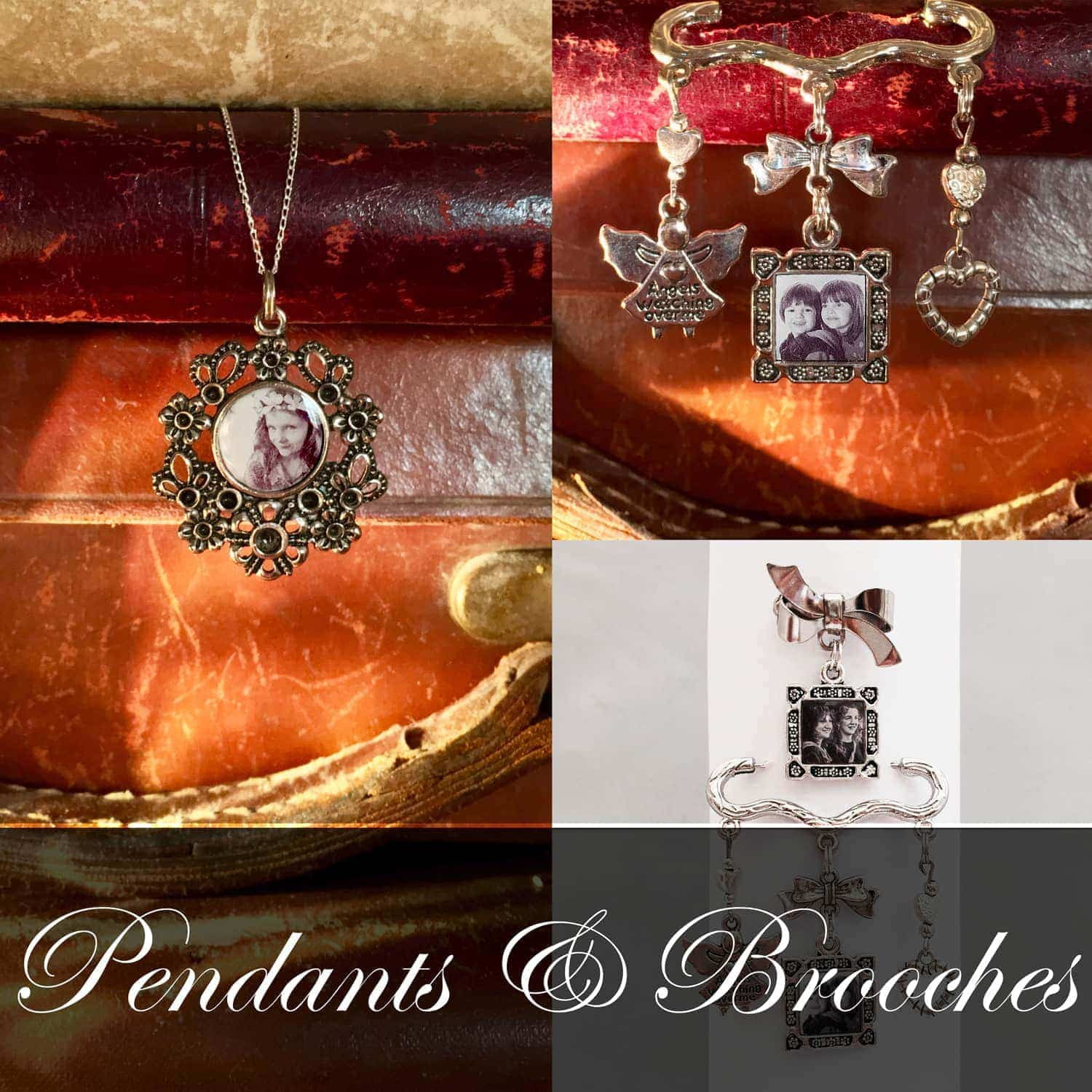 Pendants and Brooches